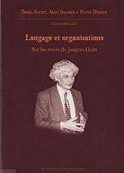 Langage et organisations : Sur les traces de Jacques Girin