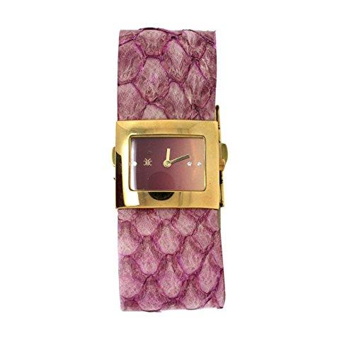 Roberto Cavalli Timewear Orologio Mod.Rettangolo Viola