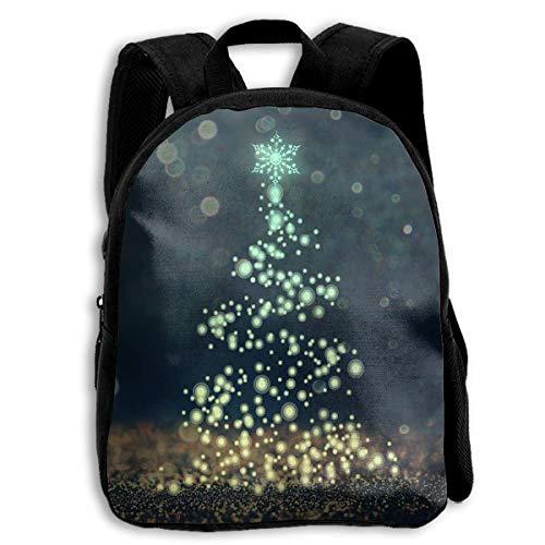 HOJJP Mochila escolar School Season Kids Backpack Bookbag,Child Christmas Tree Shoulder Bag (Harley Quinn Von Vans)