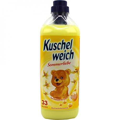 6er Vorratspack Kuschelweich Weichspüler 990ml Sommerliebe (6*990ml)