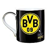 BVB Borussia Dortmund Tasse (schwarz)