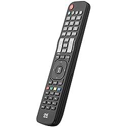 Telecomando sostitutivo per TV LG di One For All - Funziona con TUTTI i televisori LG - Il telecomando sostitutivo ideale - nero -URC1911