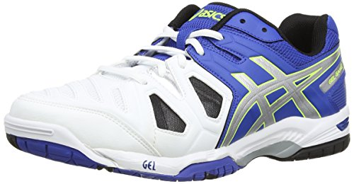 Onitsuka Tiger Gel-Game 5, Men's Multisport Outdoor Shoes, Blue (Blue/Silver/Flash Yellow 4293), 10.5 UK (46 EU)
