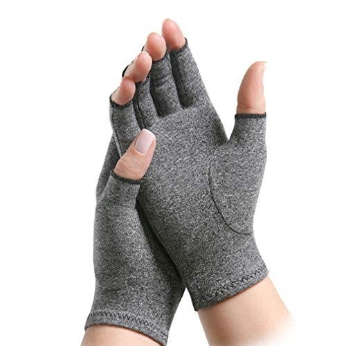 Artritis Guantes Compresión Térmico Dolor sin dedos