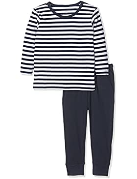NAME IT Jungen Zweiteiliger Schlafanzug Nmmnightset Dress Blues Noos