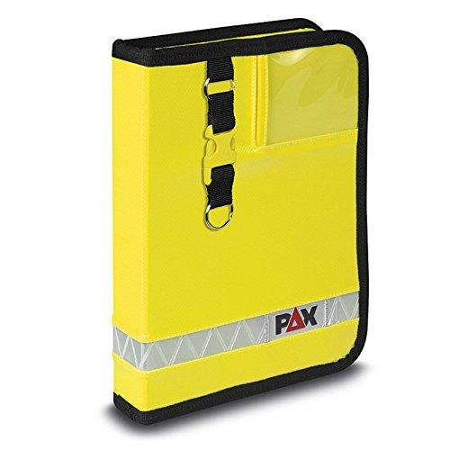 PAX® Fahrtenbuch DIN A5 - hoch - Navitasche, Farbe:Tagesleuchtgelb