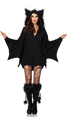 DLucc Halloween- Kleid weibliche Modelle in Europa und Amerika Luxus- Kleidung Kostüm Vampir-Fledermaus (Pc Polizei Kostüm)