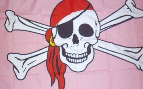 Homosexuell Stolz Piraten Flagge 5' x 3'