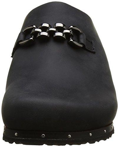 Papillio Daisy, Sabots Femme Noir (Black)