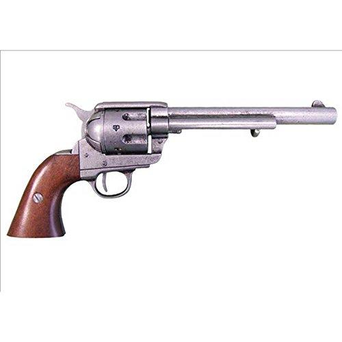 45er Deko Kavallerie-Colt Single Action 1873 grau -