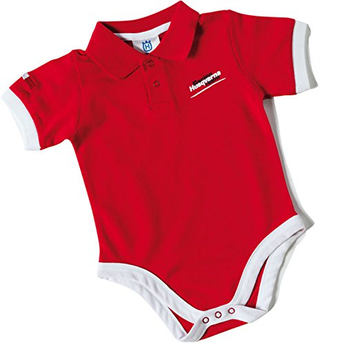 Husqvarna hmr1byak4 Baby Body, Racing Team hasta 12 meses, color rojo