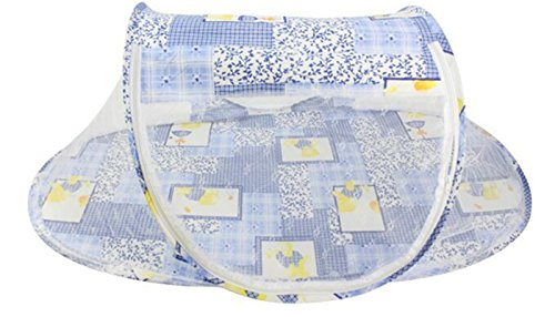 generic-foldable-baby-bed-mosquito-net-instant-travel-tent-crib-multi-function-playpen-pop-up-blue