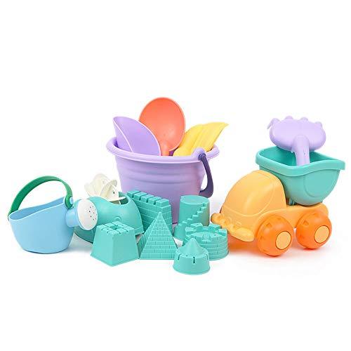 ielzeug-Set für Kinder, Strandeimer, Strandschaufel, Sandkasten-Spielzeug für Kleinkinder, Outdoor Play ()