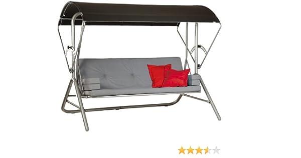 Amazon.de: Acamp Liegeschaukel star, platin/anthrazit, Maße ...