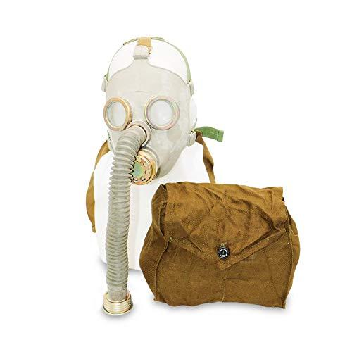 OldShop Gasmaske PDF7 Set - Sowjetische Militär Gasmaske Replica Sammlerstück Set W/ Maske, Tasche, Filter - authentischer Look & Verschiedene Größen erhältlichS