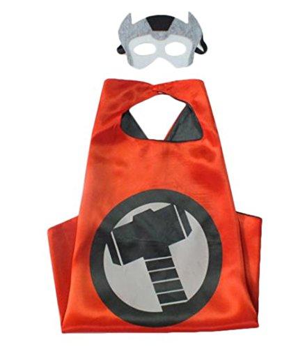 Kostüme, Masken, Capes, Satin (Boys) (Thor) (Superhelden-baby Kostüme)