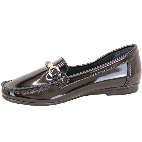 Donna 'scarpe alla moda Nero - D321