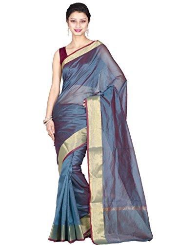 Chandrakala Cotton & Silk Banarasi Saree (7752 _Turquoise)