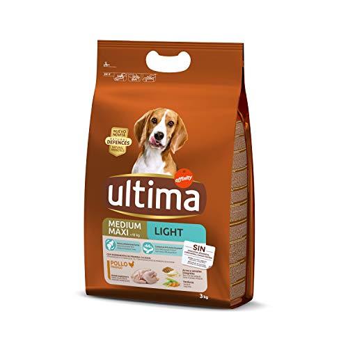 Ultima Pienso para Perros Adultos Light - 3 kg