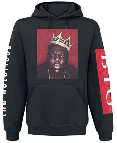 Notorious B.I.G. The Biggie Crown Kapuzenpullover schwarz XL