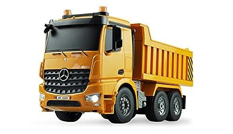 Amewi 22202–Camion-Benne Mercedes Benz radiocommandé, 1: