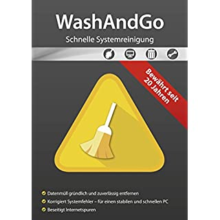 WashAndGo - System Tuning für Windows 10, 8.1, 8, Vista