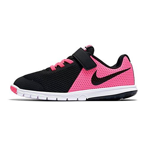 Nike Flex Experience 5 (Psv), Chaussures de Trail Fille, Multicolore (Pink Blast/Black/White 600), 27.5 EU