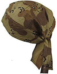 Fitted BANDANA Desert Camouflage, Beige