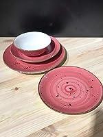 Ensezon-Kütahya Porselen 6 Kişilik 24 Parça Yemek Takımı