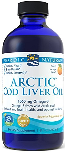 Preisvergleich Produktbild Nordic Naturals Artic Cod Liver Oil,  Lemon,  8-Ounce Bottle by Nordic Naturals (English Manual)
