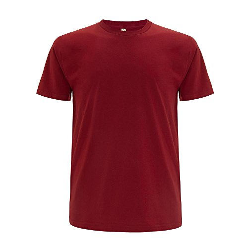 EarthPositive - Men's Organic T-Shirt Dark Red