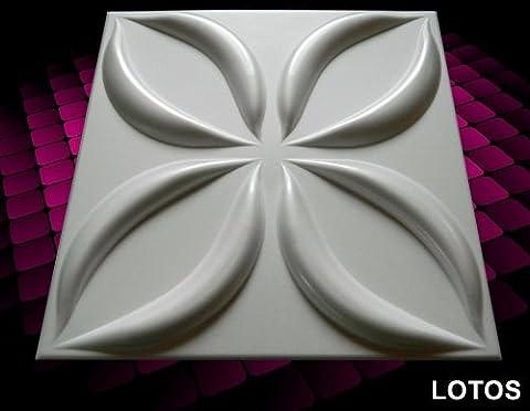 New 3D Board Wall Cladding Tiles Wallpaper Interior Decorative Panels 12 Sqm - LOTOS 3D by top.eco.wall