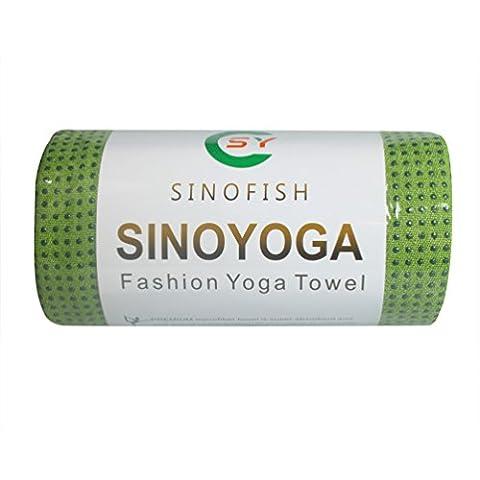 Sino Yoga® Serviette de yoga, 100 % en Microfibre, Super