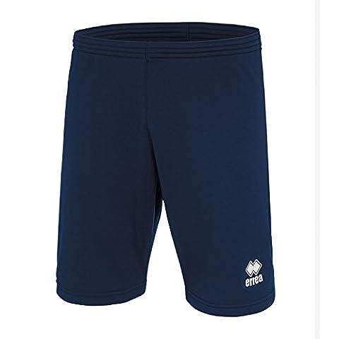 Core trainingsshorts Genoux–Pantalon de sport pour enfant court, Bleu roi, YXS