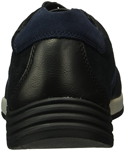 camel active Herren Pro 11 Low-Top Schwarz (Black/Midnight 02)