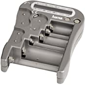 Hama Universal Batterietester (geeignet für Akkus, Batterien, LCD-Anzeige)