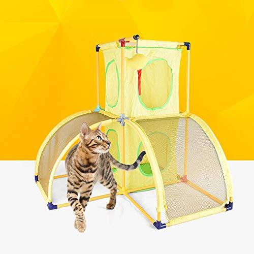 Katzenbaum Haus Kratzer Mit Kratzbäume Möbel Multi 2 Level Klettern Katze Rahmen Und Springen Plattform Eigentumswohnung. Cacoffay (Katze-häuser & Eigentumswohnungen)