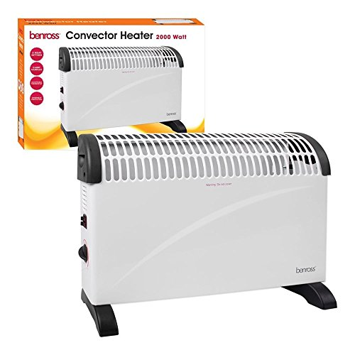 41kimHAYB9L. SS500  - Convector Heater with Adjustable Thermostat, 2 Kilowatt, 400 x 576 x 122 mm