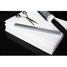 Enki Luxury Disposable Hair & Beauty Towel (White) 56gsm, 40cm x 80cm (1 x Pack Of 50 Towels)