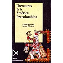 Literaturas de la Am?rica Precolombina (Fundamentos)