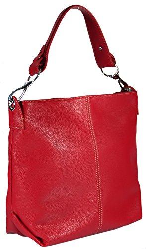 Giostra , Sac pour femme à porter à l'épaule Jaune jaune rouge