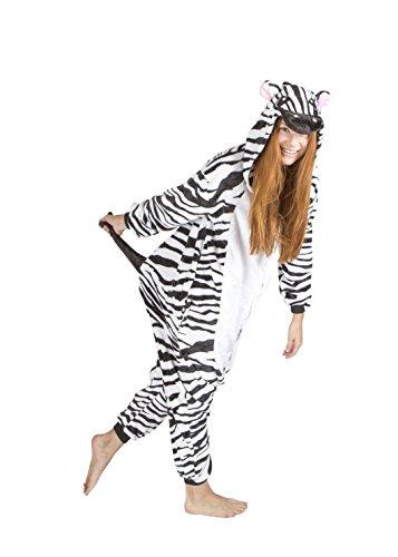 Kigurumi - Pyjamas Unisex Erwachsene Cosplay Kostüm Tier Pyjamas Zebra