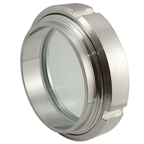 """89mm 3-1/2\"""" 3.5\"""" Sanitary Sight Glass Stainless Steel SS316 Circular Viewing Edelstahl Rohr Rohrverbinder"""