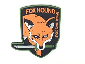 Patch Airsoft Fox Hound Special Force Group Metal Gear Solid