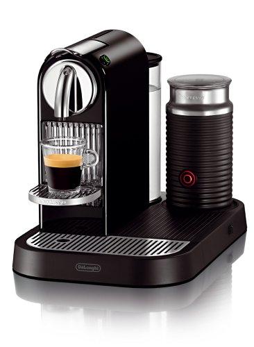 DeLonghi DeLonghi EN 265 BAE Nespresso Citiz 19 bar Flow Stop mit separatem Aeroccino, milk black - jetzt mit 50 EUR Gutschein