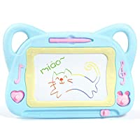 JYLJL Magnetic Drawing Board, Erasable Scribble Board Cute Doodle Writing Pad Learning Toys For Kids, Festival Gifts For Boys Girls