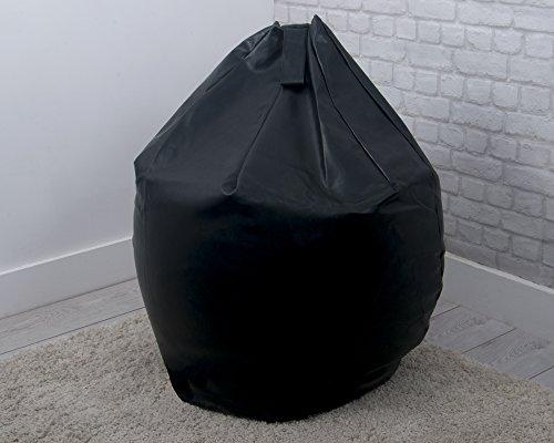 Original Sleep Company Sitzsack, Kunstleder, leicht zu reinigen, groß