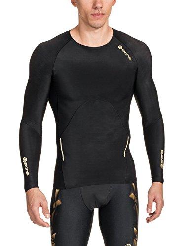skins-herren-a400-top-long-sleeve-gold-l-zb99320059156l