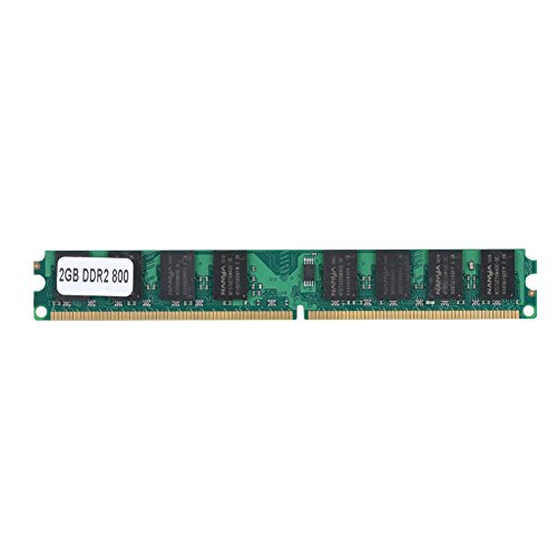 Richer-R Memoria Ram DDR2 PC,Chip para Computadora de Escritorio DDR2 PC2-6400(2G,800MHz)