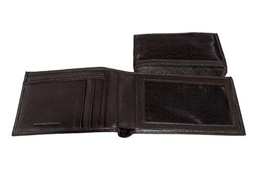 Portafoglio uomo GIANFRANCO FERRE' moro in pelle porta carte di credito A4368